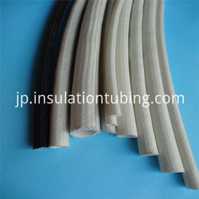 Fireproof Silicone Covered Fiberglass Braided Sleeves