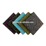 outdoor & indoor safety flooring rubber tile twith straight edge ramp and corner ramp