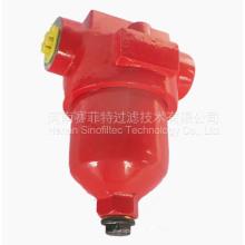 GU-H con filtro de presión de válvula de retención