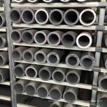 Extrusão 6060 leve tubo de alumínio fundido