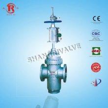 Pneumatic flat gate valve drawing