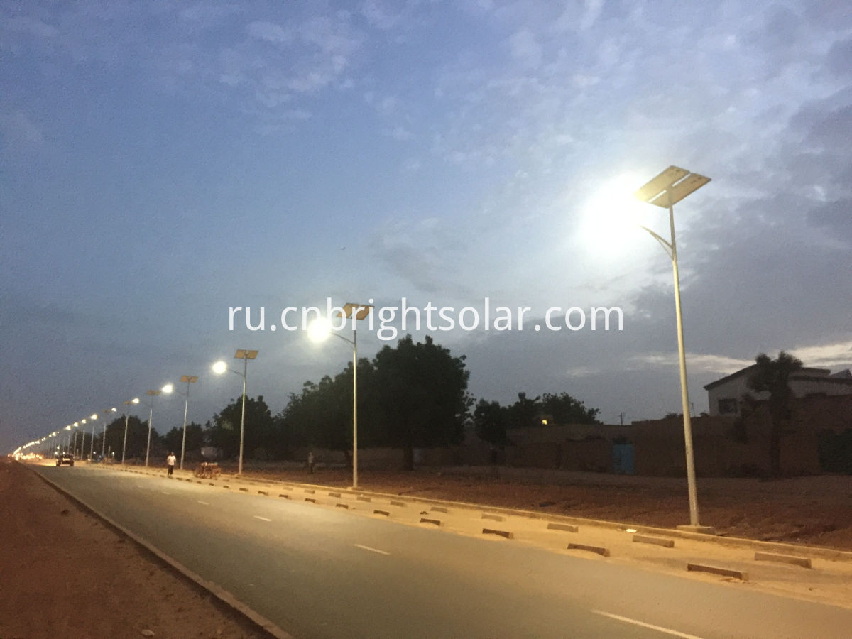 Solar LED Street lights underground type