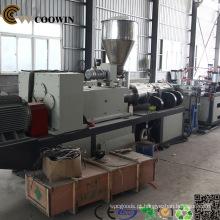 Linha de produção composta plástica de madeira da máquina do perfil de WPC