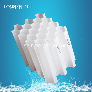 PP Honeycomb Tube Packing / Lamella Sloped Tube Settler