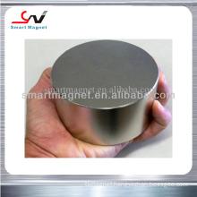 Industrial cylinder neodymium ndfeb plating nickel permanent N45 magnet