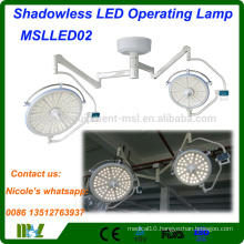 Medical equipment Shadowless LED Operating Light MSLLED02i hospital surgical led operation theatre light with 128 LED bulbs