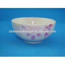 "Ceramic porcelain bowl of 5"" for soup ,rice,noodle ,salad"