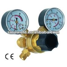 Regulador de gas de una sola etapa de latón