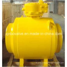 Сертифицированный по CE сварной шаровой клапан (Q31H)