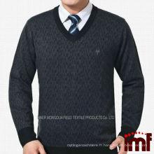 Dernier pull d'affaires Trendy Middle-aged Mens Sweater Fournisseurs