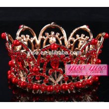 Disfraz de diamantes de belleza desfile de vacaciones rhinestone desfile coronas