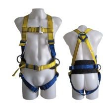 Protective Security Professional Industrial Full-Body Polyester Adjustable Harness Safety Belt
