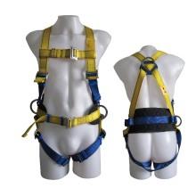 Protección de Seguridad Profesional Industrial Full-Body Polyester Cinturón de seguridad ajustable del arnés