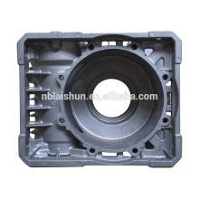 Piezas de fundición de aluminio de aluminio de China OEM, piezas de repuesto de motores