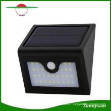 Dernière Modèle 1 W Super Lumineux 28 LED Solaire Murale Extérieure Sans Fil Mur Monté Lampe Porche, Balcon