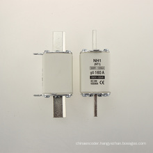 Yumo Nh1 160A Filler Closed Tube Type HRC Low Voltage Fuse Link