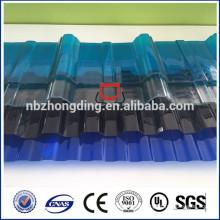1mm klare bayer pc gewellte pc sheet