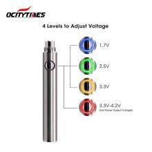 Best Quality Custom Color 350/400/650mAh Vape Pen Battery Cbd Battery