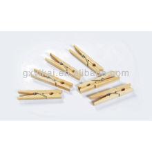 Conjunto de pinos de madeira de pinho 24pcs
