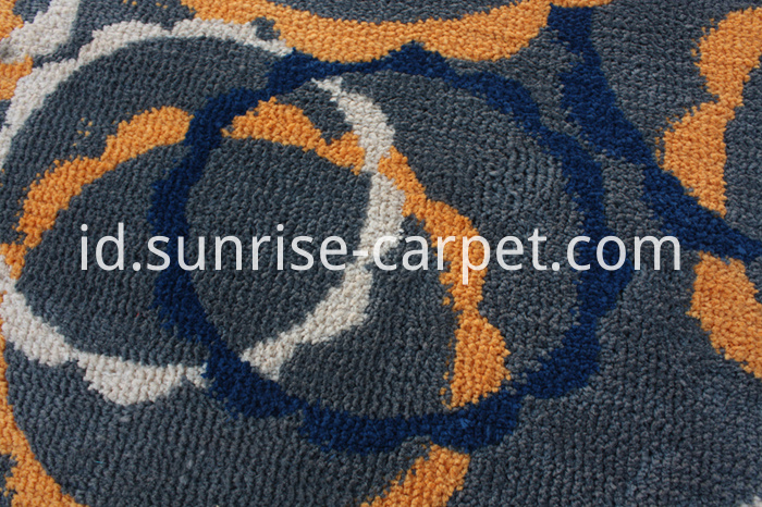 Microfiber with Design Rug