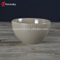 Good design decal round ceramic deep salad bowl