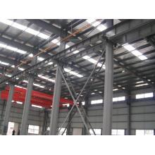 Estructura de acero prefabricada Marco espacial para uso industrial