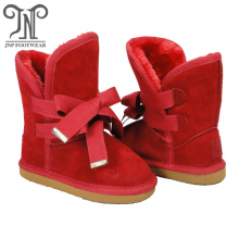 Good Quality for Kids Winter Boots Girls Kids Tall Winter Waterproof Boots Red export to Uganda Exporter