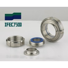 Sanitary Stainless Steel Union Pipe Fitting (IFEC-SU100001)