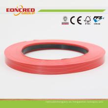 Venta caliente de las bandas de borde del PVC de 2m m