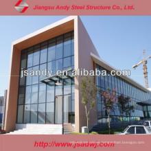 Fábrica de China Mejor Precio Personalizado de vidrio de aluminio de muro cortina