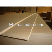 Raw MDF Board of light color for Iran