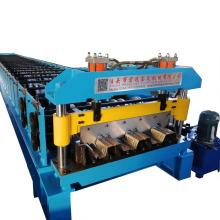 Máquina de fabricación de azulejos de cubierta de piso de estructura de acero