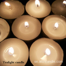 Tempelbruk 12g 14g Vit Mini Tealight Candle