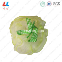 comely lady shower sponge mesh ball