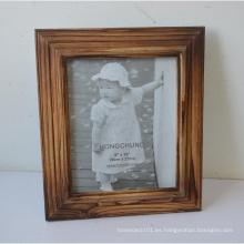 Nuevo marco de madera sólida de la foto para el regalo casero