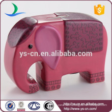 Elephant Ceramic Piggy Bank For Children