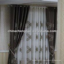 Tissu à rideaux fleuris