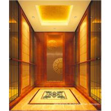 Elevador de passageiros elevador espelho gravado Mr & Mrl Aksen Ty-K107