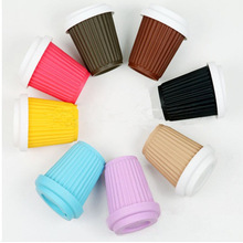 Food Grade Silicone Coffee Cups Turkish Silicone coffee Cup