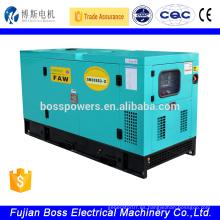 FAW XICHAI 22KW 4DW93-42D generador diesel insonorizado refrigerado por agua
