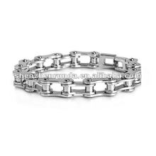 2012 Lastest fashion accessories stainless steel men's bracelet 10mm thickness bracelet for people