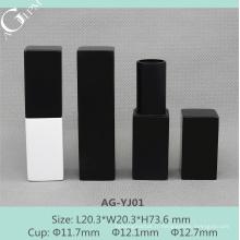AG-YJ01 AGPM vider le tube de rouge à lèvres magnétique en aluminium