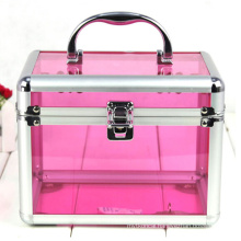 The Pink Basic Style Acrylic Cosmetic Cases (hx-q053)