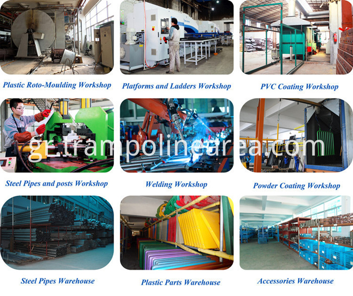 production line of commercial indoor playground equipment