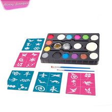 Organische Party Pack Face Paint Kit op waterbasis