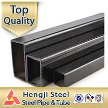 Negro ERW Tubos rectangulares sección hueca