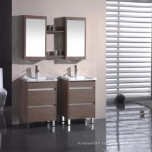 Vanité de salle de bain en mélamine avec bonne qualité