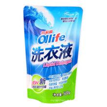 Levante-se o malote para o empacotamento líquido do detergente