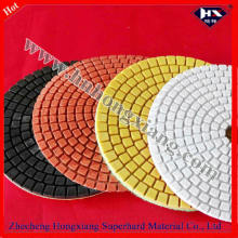 100mm Wet Diamond Abrasive Pads für Stein Polieren