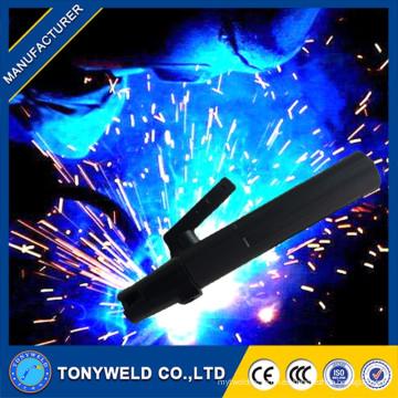 Soporte del electrodo del cable de la soldadura del sostenedor del electrodo del nuevo diseño cobre / latón 150 / 500amp